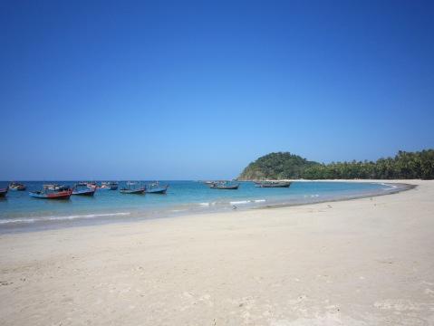 Ngapali Beach.
